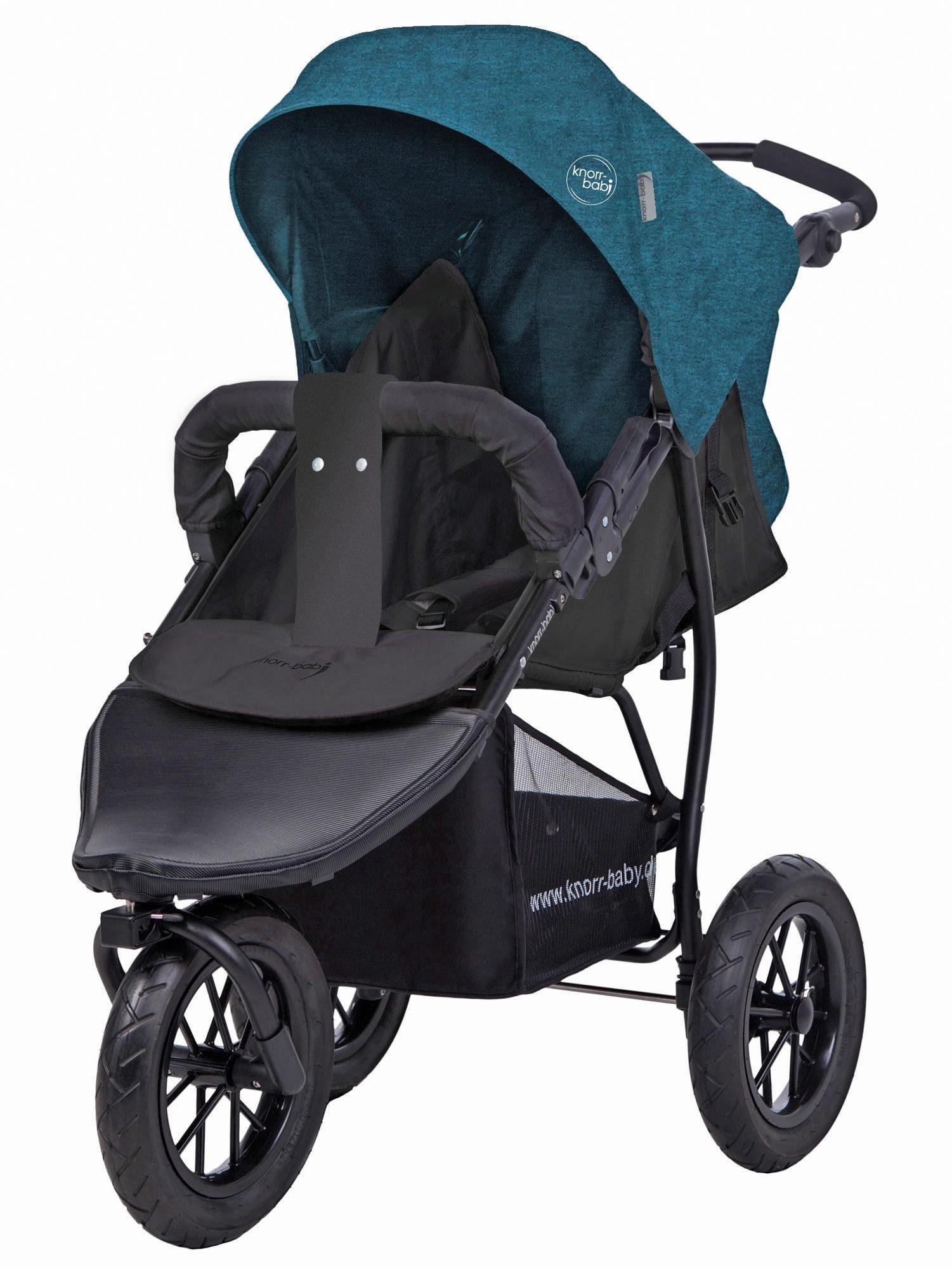 knorr-baby Jogger-Kinderwagen, »Joggy S Melange, petrol«
