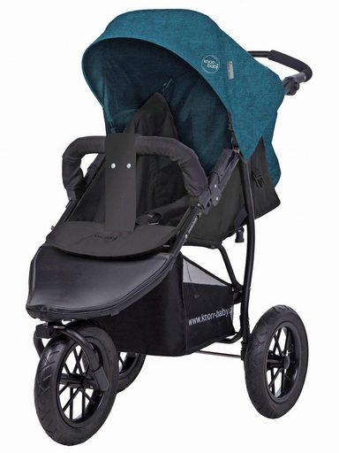 Knorrbaby Jogger-Kinderwagen »Joggy S Melange, petrol«