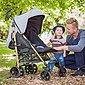 Knorrbaby Kinder-Buggy »Wood Art, schwarz-melange grau«, mit schwenk- und feststellbaren Vorderrädern, Bild 5