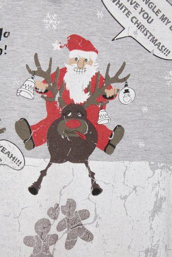 Blend Print-Shirt Christmas t-shirt