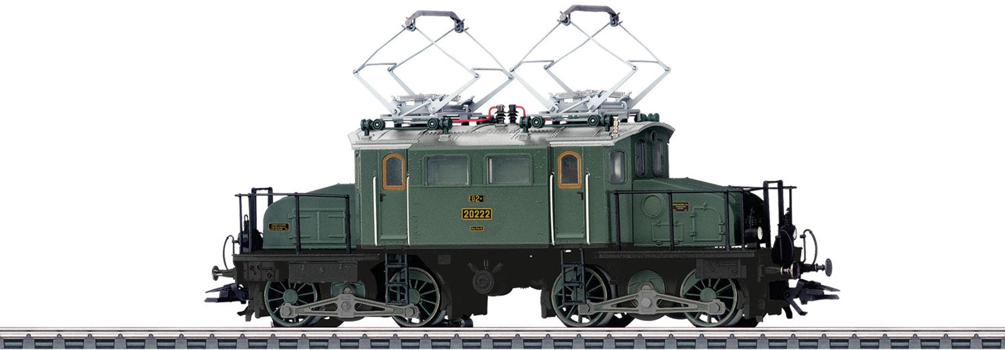 Märklin E-Lok mit Licht + Sound, H0, »Elektrolokomotive EG 2x2/2 Länderbahn, Wechselstrom - 37484«