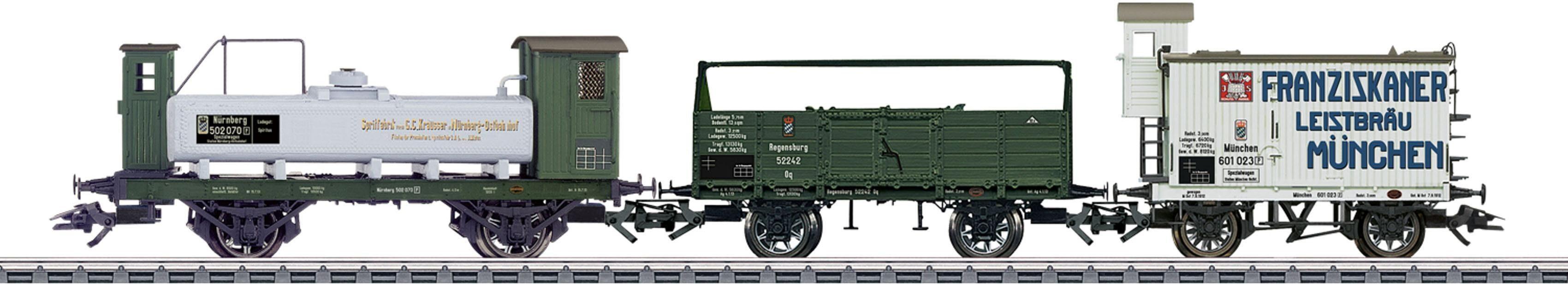 Märklin Wagen-Set, H0, »Güterwagen 3er-Set, Wechselstrom - 46066«