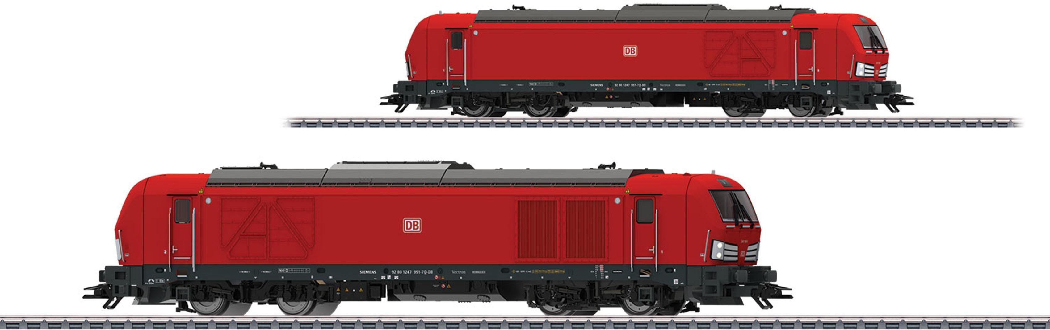Märklin Lok mit Licht + Sound, H0, »Diesellokomotive BR 247, Vectron DE DB AG, Wechselstrom - 36291«
