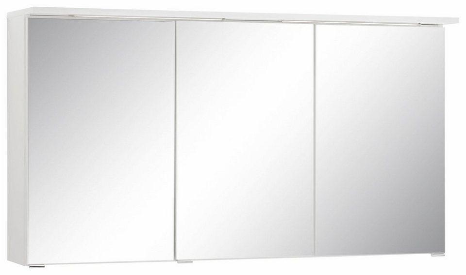 Held Möbel Spiegelschrank »Ravenna«, Breite 120 cm, mit LED ...