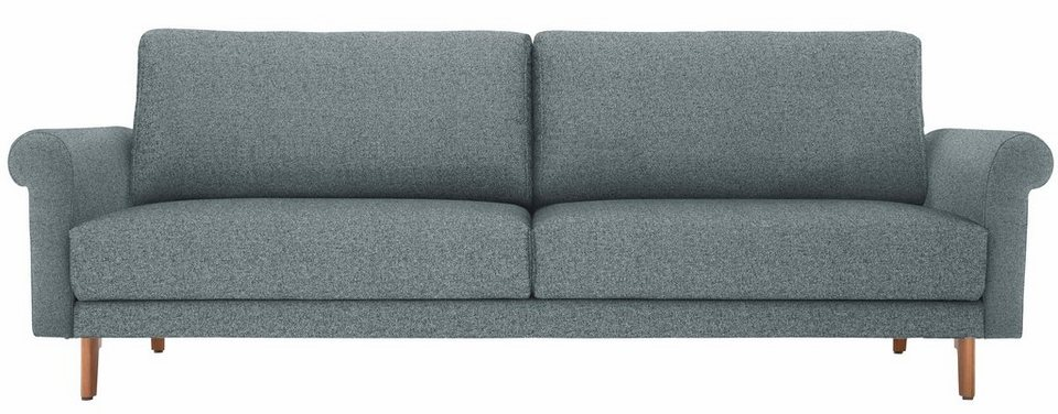 h lsta sofa 3 sitzer sofa wahlweise in stoff oder leder im modernen landhausstil. Black Bedroom Furniture Sets. Home Design Ideas