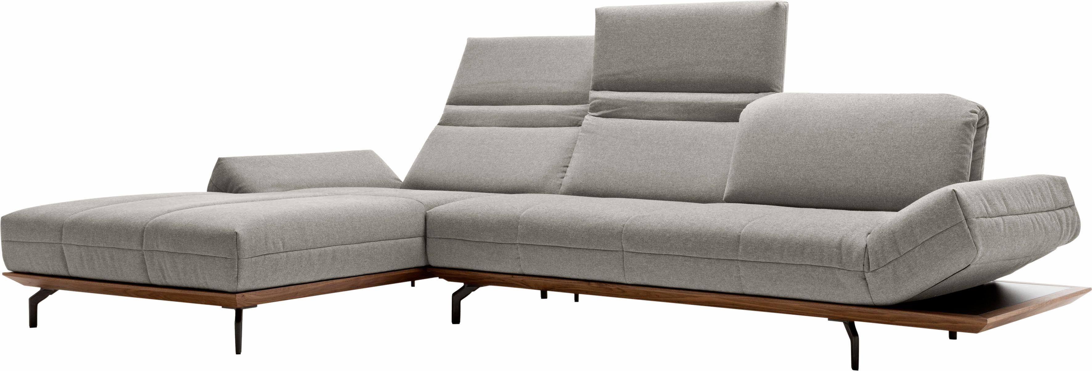 Hülsta Sofa Ecksofa »hs.420«, mit Rücken- und Armlehnenverstellung