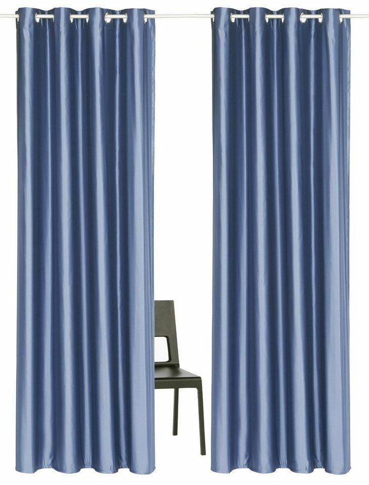 Vorhang »Satin«, Guido Maria Kretschmer Home&Living, Ösen (2 Stück) online  kaufen | OTTO