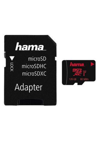 HAMA MicroSDXC 128 GB UHS treniruoklis Clas...