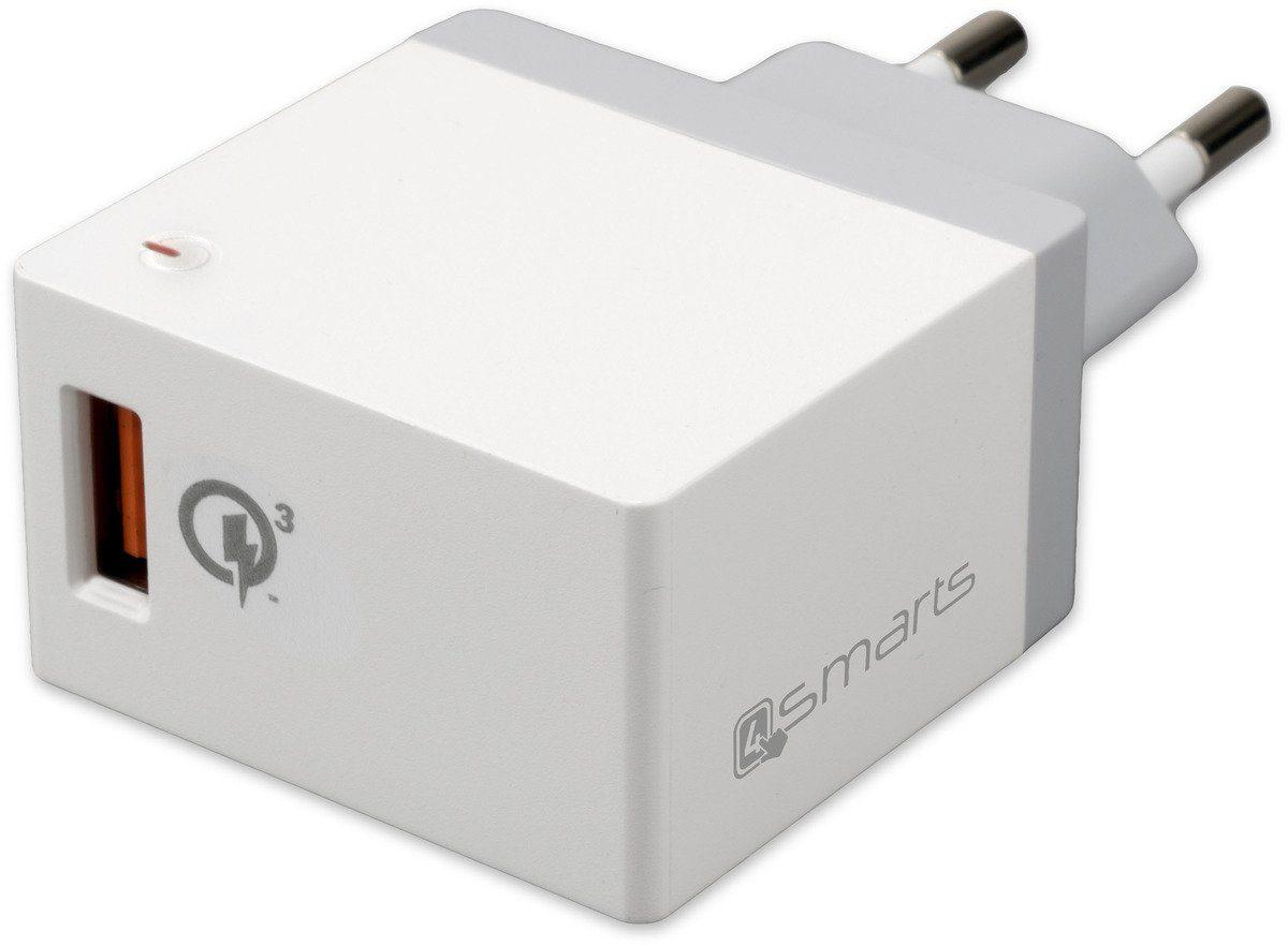 4Smarts Lader »Netzladegerät Qualcomm Quick Charge 3.0 18W«