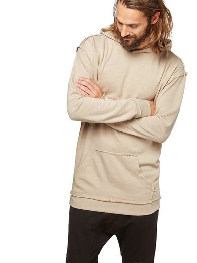 URBAN CLASSICS Kapuzensweatshirt Oversized Open Edge Slub Terry Hoody