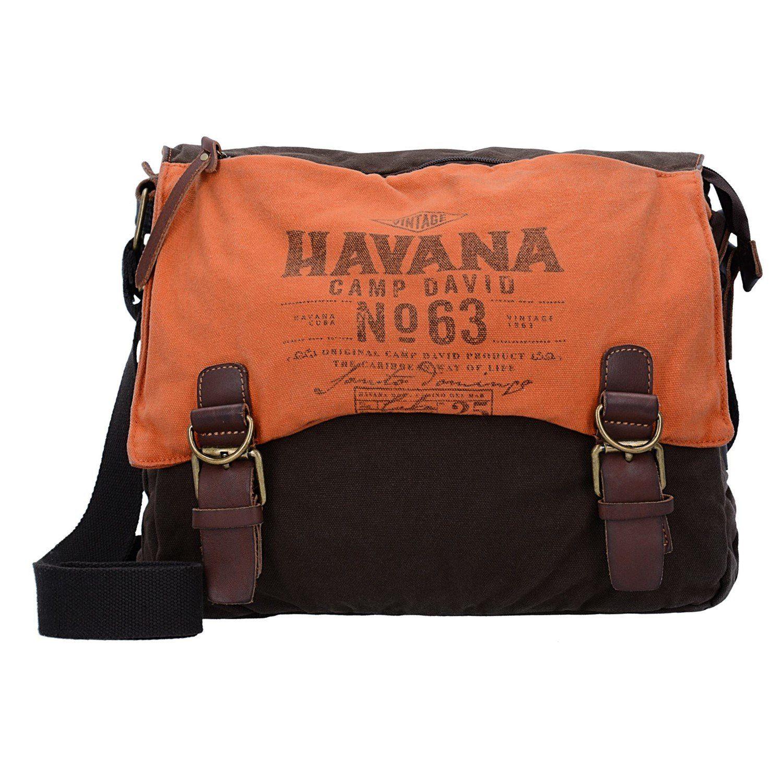 CAMP DAVID Ortega River Messenger Tasche 35 cm Laptopfach