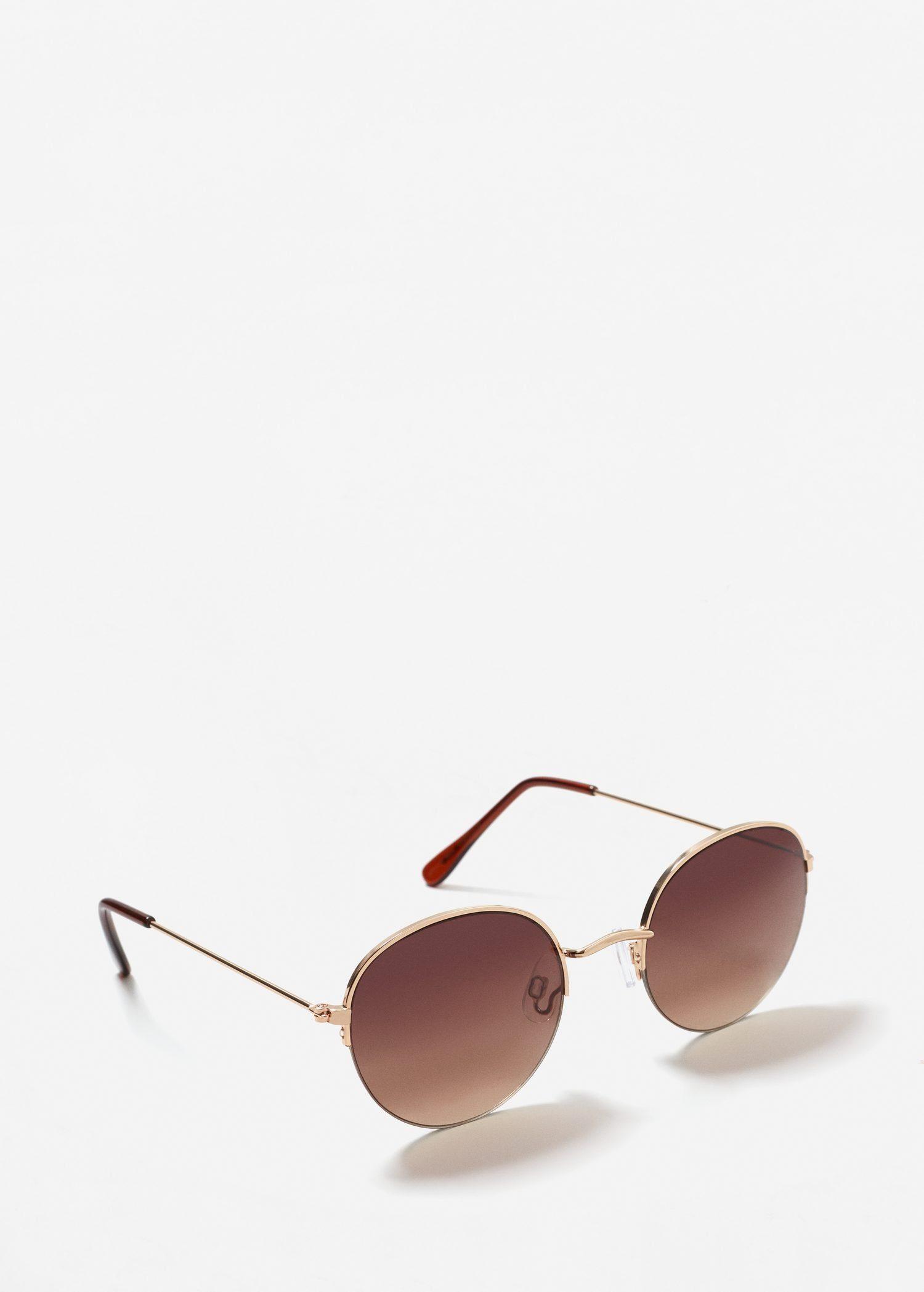 MANGO Metall-Brille