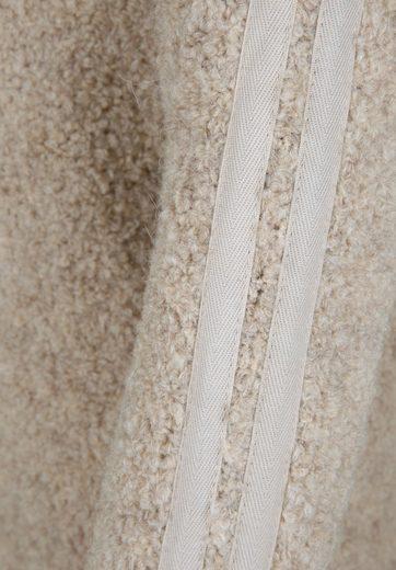 10DAYS Strickpullover mit abgesetzten Streifen, Bänder