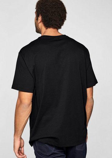 s.Oliver RED LABEL T-Shirt mit Logo-Print