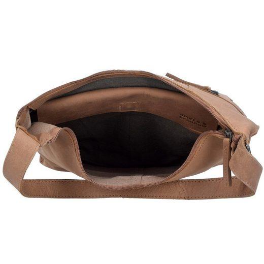 Spikes & Sparrow Belt Schultertasche Leder 31 cm
