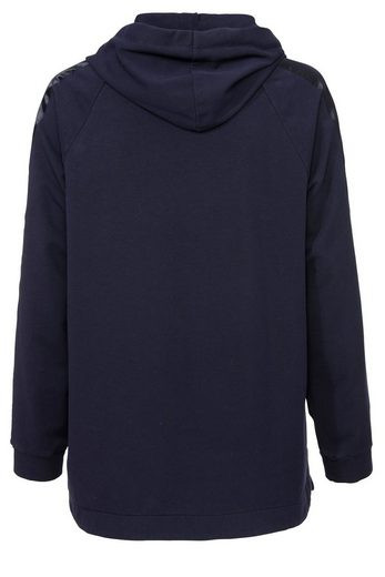 Embroidered Via Appia Sweatshirt With Satin-elements