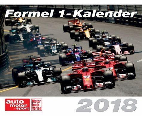 Kalender »Formel 1-Kalender 2018«
