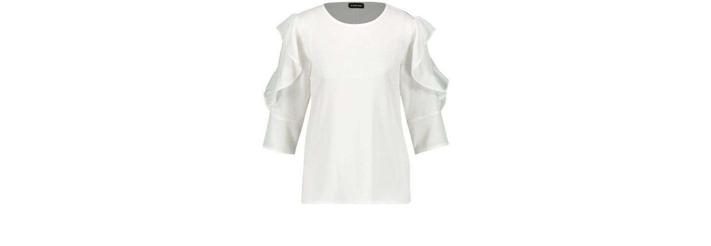Taifun T-Shirt 3/4 Arm Rundhals Blusenshirt mit Volants  Wie Viel dcqwb