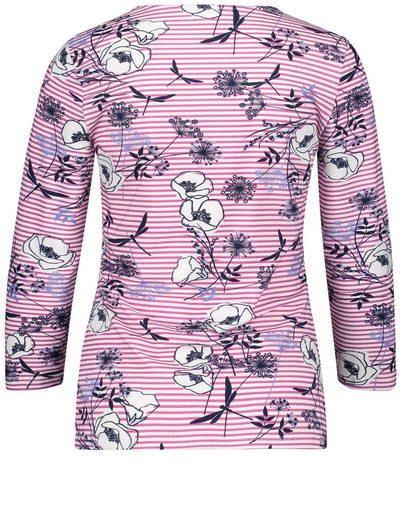 Gerry Weber T-shirt 3/4 Bras 3/4 Bras Chemise Organique Et Équitable Mustermix