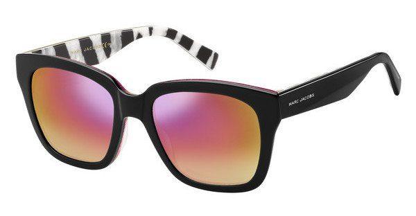 MARC JACOBS Marc Jacobs Damen Sonnenbrille » MARC 229/S«, schwarz, NS8/T4 - schwarz/silber
