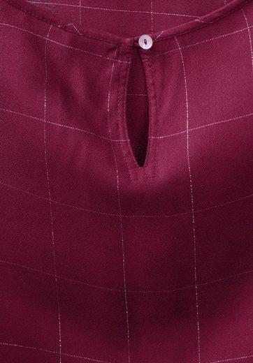 Street One Karo-Design Bluse
