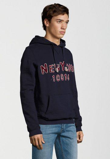 Better Rich Kapuzensweatshirt HOODY TAPE NY, Ziernähte