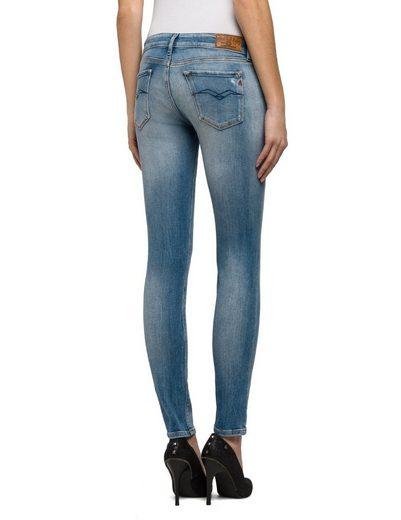 Replay Skinny-jeans Low Waist Luz