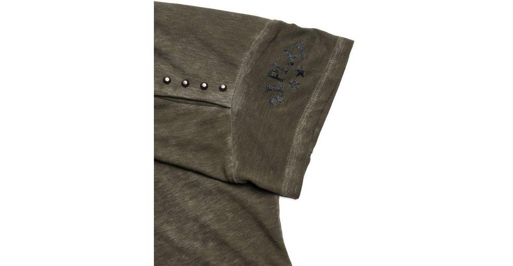 Replay Oversize Shirt mit Nietenapplikationen  Wie Viel Spielraum Beruf Neu Werden 2018 Neue Online O3Je5B