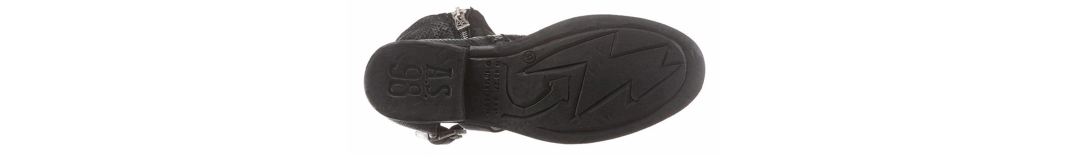 A.S.98 Stiefelette, mit biegsamem Draht im Schaftrand