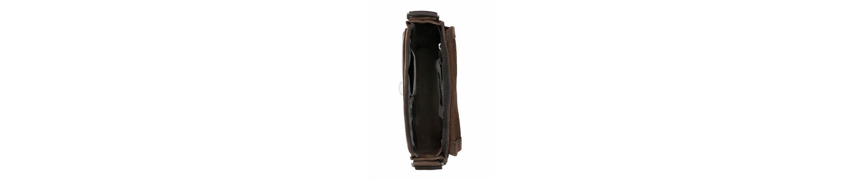 Strellson Umhängetasche, crossbody aus Leder
