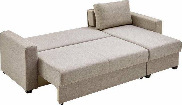 Sofas - ATLANTIC home collection Ecksofa, mit Bettfunktion  - Onlineshop OTTO