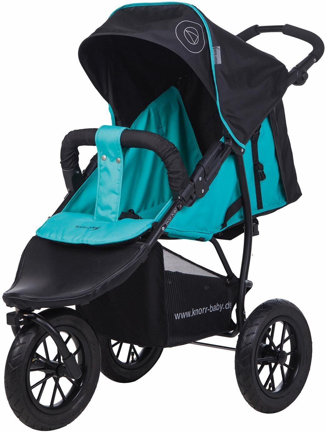 knorr-baby Jogger-Kinderwagen, »Joggy S Happy Colour, blau«