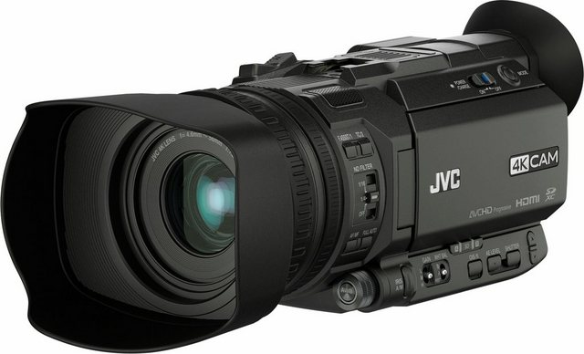 Camcorder - JVC »GY HM170E« Camcorder (4K Ultra HD, 12x opt. Zoom, Bildstabilisator)  - Onlineshop OTTO
