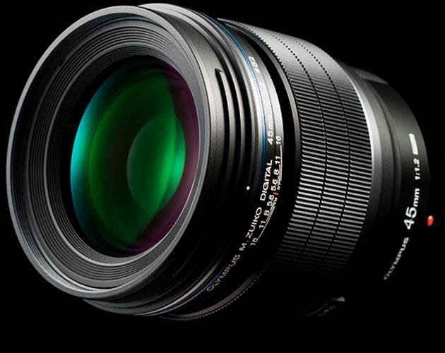 Olympus M.ZUIKO DIGITAL ED 45mm 1:1.2 PRO Tele Objektiv