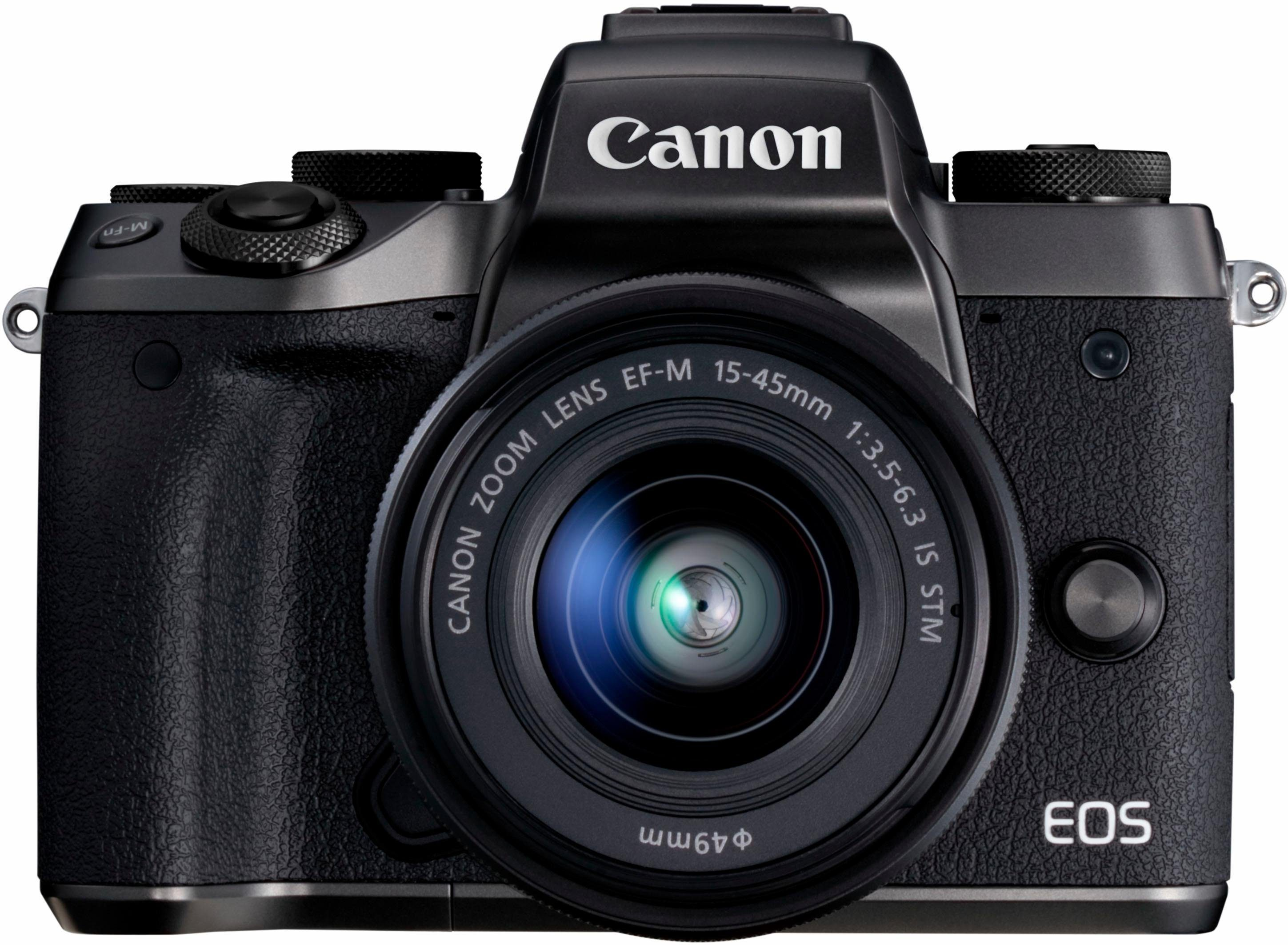 Canon EOS-M5 EF-M 15-45mm / 3,5 - 6,3 IS STM System Kamera
