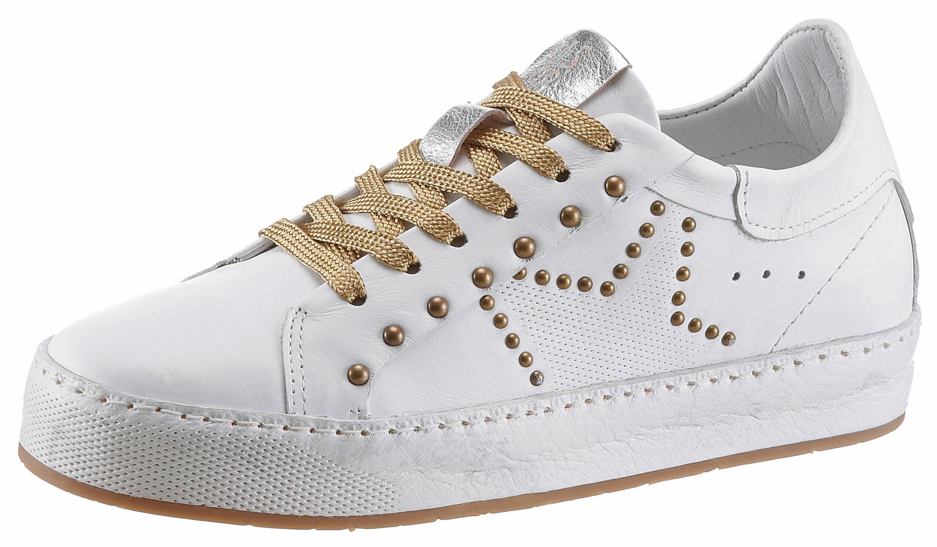 AS98 Sneaker, mit weich gepolstertem Schaftrand  weiß