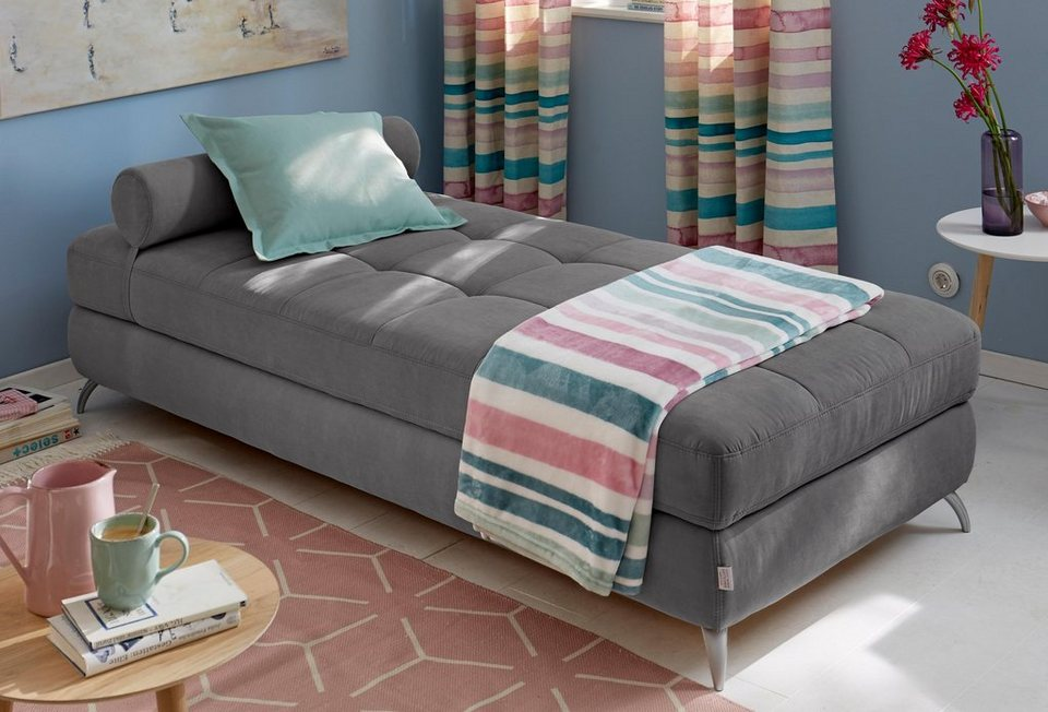 GMK Home & Living Daybed mit Bettkasten und Nackenrolle online ...