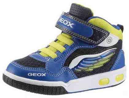 Geox Kids »Gregg« Sneaker mit cooler Flügelapplikation und Blinkfunktion