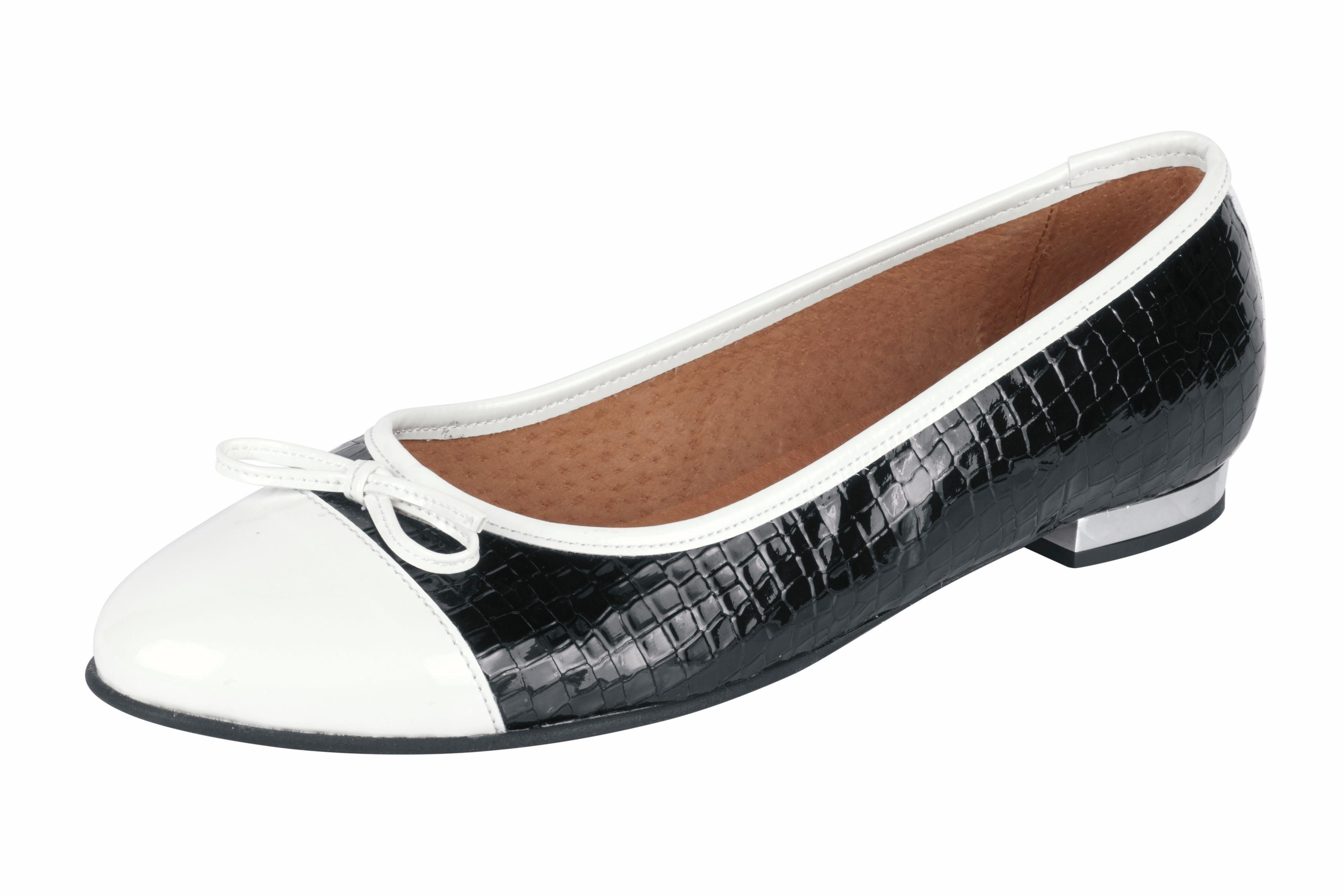 Ballerina online kaufen  weiß#ft5_slash#schwarz