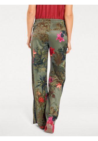 CASUAL брюки с набивным рисунком с цве...