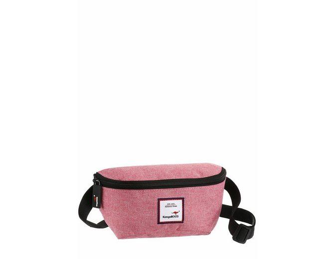 KangaROOS G眉rteltasche, mit praktischem Rei脽verschluss-R眉ckfach