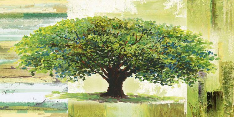 heine home Leinwandbild Baum als Kunstdruck