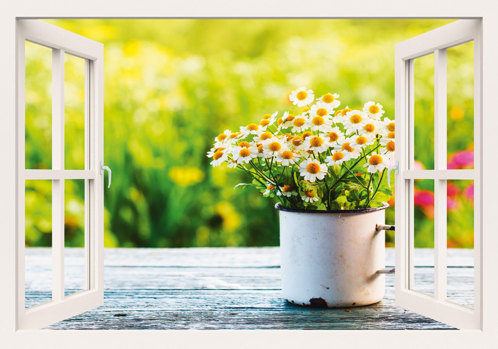 heine home Leinwandbild Fensterblick