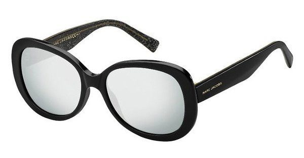 MARC JACOBS Marc Jacobs Damen Sonnenbrille » MARC 231/S«, schwarz, NS8/T4 - schwarz/silber