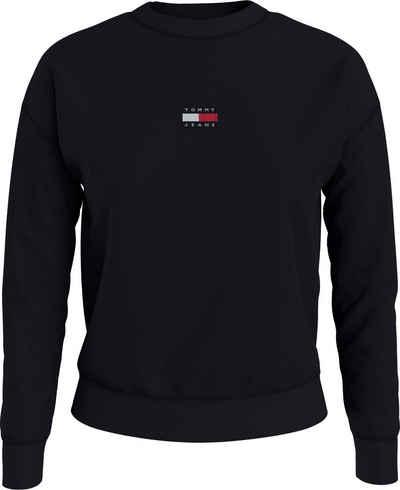 Tommy Jeans Sweatshirt »TJW Tommy Center Badge Crew« mit Tommy Jeans Logo-Badge auf der Brust
