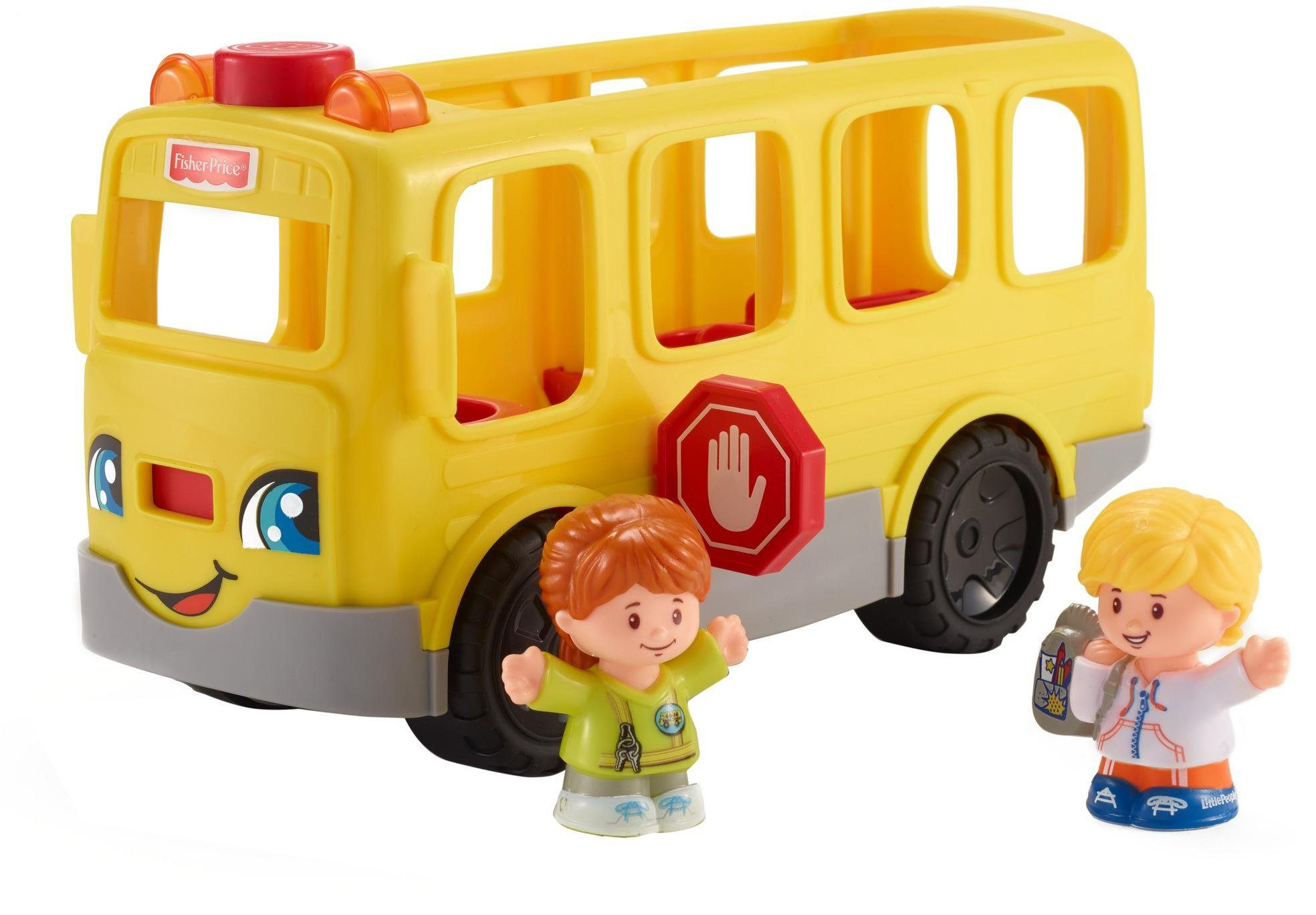 Fisher Price Spielbus mit Sound, »Little People Schulbus«