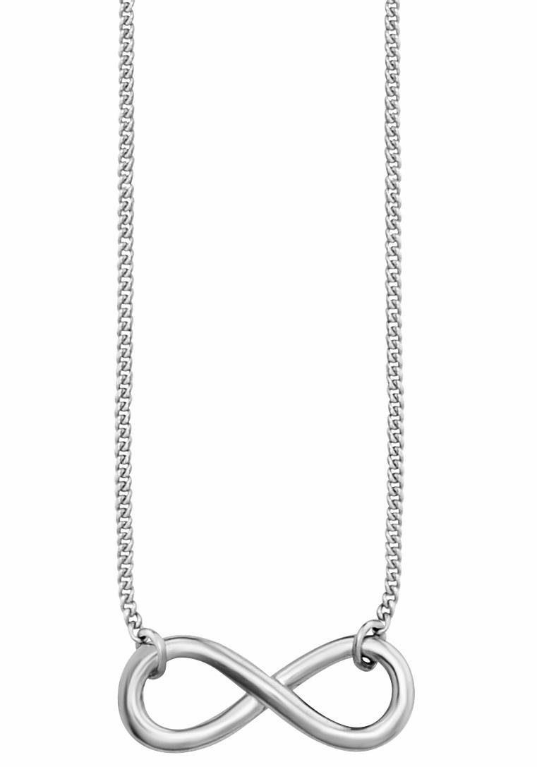 CAÏ Kette mit Anhänger »Infinity, Unendlichkeitsschleife, together forever, C7375N/90/00/44«