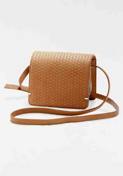 GUIDO MARIA KRETSCHMER Mini Bag, crossbody aus Leder in Flechtoptik