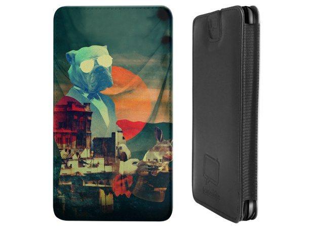 caseable design smartphone tasche pouch f r htc desire. Black Bedroom Furniture Sets. Home Design Ideas