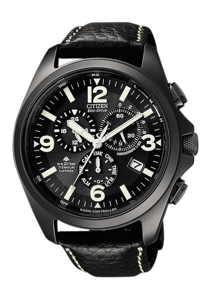 "Citizen, Funkchronograph, ""AS4035-04E"" in schwarz"